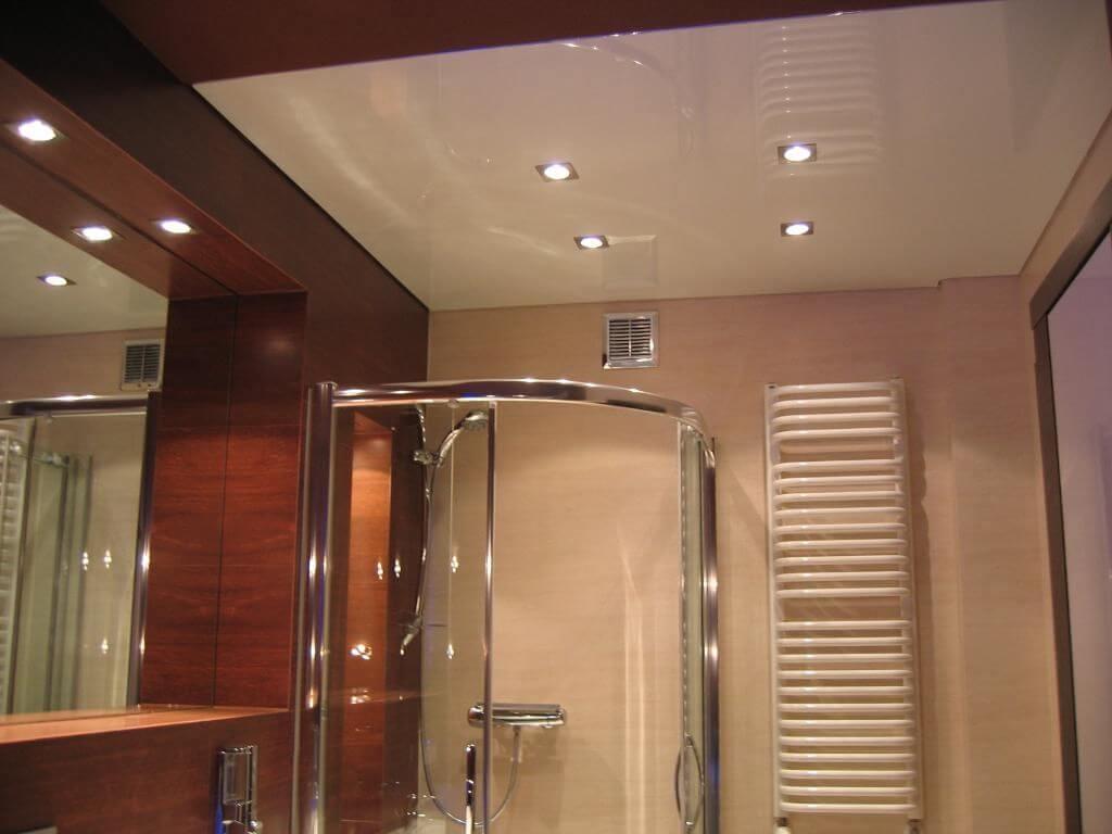 ფრანგული გასაჭიმი ჭერი აბაზანაში