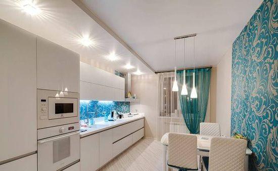 ფრანგული ჭერი სამზარეულოში